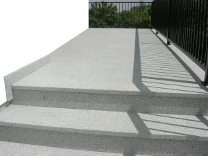 Stufen zu Terrassen